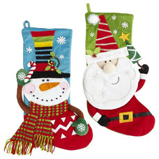 Contemporary Christmas Stockings And Holders by Pier 1 Imports