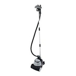 Conair - Conair GS7RXF Compact Upright 1600-Watt Fabric Steamer - Compact Fabric Steamer with 1200 watts of power; Compact  easy to store; Easy-to-handle  cool-touch nozzle and hose; Large rear wheels for easy maneuverability; 3-piece collapsible pole for hanging garments; 55-ounce water tank provides one hour of professional steam; Foot-activated power switch; Includes lint and bristle brush attachments; UL listed.  This item cannot be shipped to APO/FPO addresses. Please accept our apologies.
