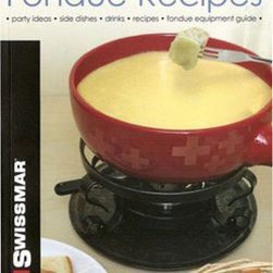 Swissmar - Swissmar Fondue Cookbook - This book covers the basics of fondue: ingredients, equipment, and tips for successful fondues Especific chapters covers, ingredients and recipes for Asian fondues, Classic Fondues, Exotic oil fondues, low fat stock fondues, essential sauces and dips as well as side dishes. 62 pages.