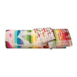 Missoni Home - Missoni Home | Josephine Bath and Hand Towel 5 Piece Set - Design by Rosita Missoni.