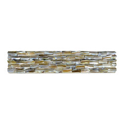 Home Elements - Mother of Pearl Tile, 1 Square Foot - Product Description: