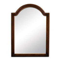 Cottage Vanity Mirror - The Cottage Vanity Mirror is designed to complement the Cottage Vanity, and features a gracefully arched top that lends elegance to any room.