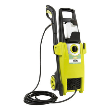 "Snow Joe - Power Washer 12.5 Amp 1740 Psi - The SPx2000 is the ultimate dirt magician.  Its lightweight design makes it easy to maneuver for a variety of.  The Pressure Joe SPx2000 packs a power punch with a 1500-Watt, 12.5-AMP motor and has a maximum pressure output of 1740 PSI making quick work on stubborn debris.  A 34"" adjustable extension wand extends your reach while allowing you to go from an intense zero-degree spray to a more gentle 45-degree spray.  It is equipped with a 0.9 liter on-board detergent tank, perfect for cleaning your windows, cars, and RV's, along with several safety features including a trigger safety lock with TSS (total stop system) and a complete on/off switch."
