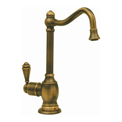 Whitehaus - Forever Hot 5.5 in. Instant Water Dispenser F - Color: Antique CopperPictured in antique brass. Traditional spout. Self closing handle. Fits counter tops up to 2.25 in.. Can be used with wh-tank only. 5.5 in. W x 6.88 in. H (3 lbs.). Warranty