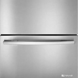 "Jenn-Air 24"" Double Refrigerator Drawers, Stainless/blk 
