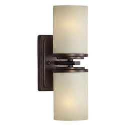 Forte Lighting - Forte Lighting 2424-02 4.5Wx13Hx5.5E Indoor Up Lighting Wall Sconce - Contemporary / Modern Indoor Up Lighting Wall Sconce