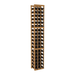 Wine Racks America - 3 Column Standard Wine Cellar Kit in Pine, Oak - Each wine cellar rack meets Wine Racks America's unparalleled fabrication standards. Modular engineering provides universal kit compatibility which enables connoisseurs to mix and match wine rack kits until you achieve a personally-defined wine bottle storage system.