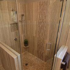 Contemporary Bathroom by ann bridgman