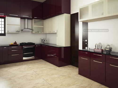 Open Modular Kitchen Design