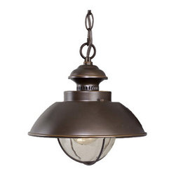 Vaxcel Lighting - Vaxcel Lighting OD21506 Harwich 1 Light Nautical Outdoor Mini Pendant - Vaxcel Lighting 1 Light Outdoor MiniPendant from the Harwich CollectionFeatures: