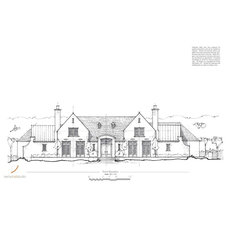 Traditional Exterior Elevation by Kemp Hall Studio