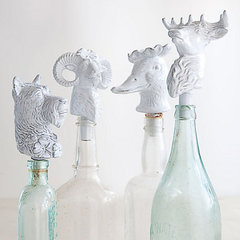 eclectic barware by Anthropologie