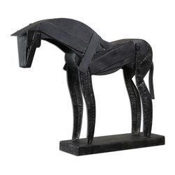 Joshua Marshal - Mahogany Bronius Pieced Metal Figurine - Mahogany Bronius Pieced Metal Figurine