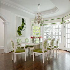 Traditional Dining Room by Kellie Burke Interiors