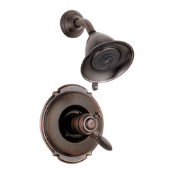 Delta Monitor(R) 17 Series Shower Trim - T17255-RB - The Victorian(R) Collection adds an impressive element of distinction - and a touch of old-world charm - to any bathroom.
