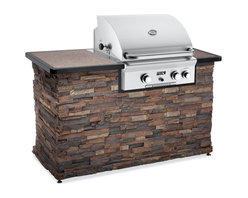American Outdoor Grill - American Outdoor Grill 24 Inch Built-In Gas Grill Multicolor - 24NBT - Shop for Grilling and Kitchen Centers from Hayneedle.com! The product specialists at Hayneedle have been extensively trained by the manufacturer of American Outdoor Grills. These specialists know the product inside and out top to bottom front to back. They're here to help you with every step of your American Outdoor Grill purchasing process. Learn everything you need to know as you customize your grill island with drawers doors pizza ovens and more! Call 866-579-5183 to speak with a product specialist and start building your dream grill island today. Hours: Monday-Friday 9 a.m.-7 p.m. E.T.Enjoy fresh grilled vegetables fish and steaks all year with the American Outdoor Grill 24 Inch Built-In Gas Grill. Constructed from durable stainless steel including the rod cooking grids and the burners this grill features 432 square inches of cooking area. The grill has a solid state ignition system a custom designed analog thermometer and a heavy duty warming rack is available as a separate purchase to keep your food warm. It also includes an optional 10 000 BTU rotisserie back burner. The 24-inch grill comes with the option of a back and side burner. So invite some friends over and enjoy an evening on your patio with good food and good conversation. Additional Features Features a solid state ignition system Has a custom designed analog thermometer Burners made from advanced SR-18 stainless steel Stainless steel rod cooking grids Available without back burner and side burner