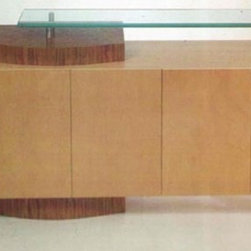 Custom Contemporary Furniture - For the Arto buffet, custom sizing is available and you can also get it in many beautiful wood and metal finishes.