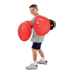 Franklin - Franklin Jumbo Inflated Boxing Gloves Multicolor - 6538 - Shop for Sport Toys from Hayneedle.com! Weight: 6 ouncesFun for ages 6 and upInflated dimensions: 25.6L x 16W inchesManufacturer's warranty included; See complete details in the Product Guarantee areaAbout Franklin SportsIn 1946 brothers Irving and Sydney Franklin founded Franklin Sports in Brockton MA. As the company grew Franklin's headquarters moved to a larger facility in Stoughton MA. What began as a business specializing in manufacturing leather sporting good items for the youth market has expanded successfully with the addition of distribution partners in Europe Japan Australia Mexico and Canada. As proof of Franklin's top-quality products the Franklin batting glove is the official batting glove of Major League Baseball. From professional athletes to the youngest novices Franklin meets the needs of all with innovative products and exceptional value.