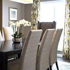 Contemporary Dining Room by AMR Design