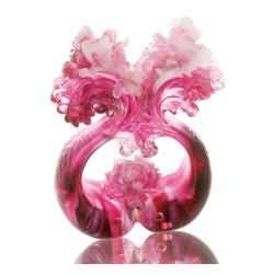 LiuliGongfang - LiuliGongfang Crystal Flowers Bloom - Happiness Doubled - LiuliGongFang