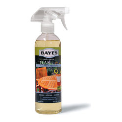 Teak Cleaner & Restoring Solution