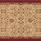 The Rug Market - Heritage Red area rug -