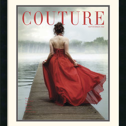 Amanti Art - Couture September 1960 Framed Print by HC Archives - Whether you flirt with fashion or are a serious collector, this captivating Couture September 1960 print makes a great addition to your decor.