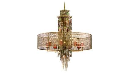 Corbett Riviera Collection 13-Light Pendant Chandelier - LightingLuxuryStyle.com