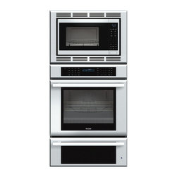 "Thermador Masterpiece 30"" Triple Combination Wall Oven, Stainless 