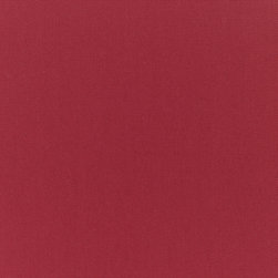 "Sunbrella  USA - 5436 Sunbrella Burgundy Fabric - Sunbrella indoor/outdoor high performance fabric.  5 year warranty against fade, mildew and water resistance. 100% Solution-dyed Acrylic Yarns.  54"" wide. Solid.  Manufactured in the United States.  Machine wash - cold water. NO DRYER/HEAT."