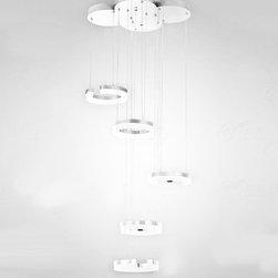 Modern C Model LED Crystal Pendant Lighting -