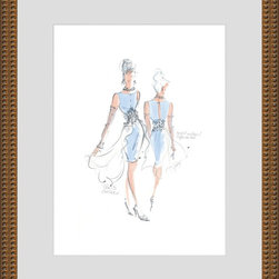 Looking Good I Artwork - World-class Giclee print Printed on archival quality paper guaranteed not to fade for 200 years! Hand-assembled wood frame Manufactured in the USA