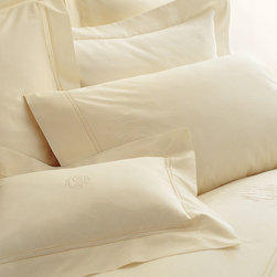 Lyric Duvet Cover - Queen - White - An essential collection when you need quality bedding that is simple and classic in design and color. The lyric duvet cover boasts clean lines in a 500 thread count percale from Italy in a range of gorgeous neutrals that suit every style.