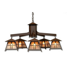 Eclectic Chandeliers by LodgeLighting.com
