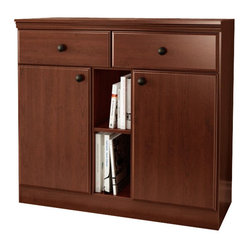 South Shore - South Shore Morgan Storage Console in Royal ...