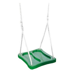 Playtime Swing Sets - Playtime Swing Sets Stand-N-Swing - Green - AD104 - 900 - Shop for Swings Slides and Gyms from Hayneedle.com! Add a fun and exciting addition to your play set with the Playtime Swing Sets Stand-N-Swing Green. This swing is easy to install and offers a low center of gravity but a high center of fun! Made of resin material the base offers foot indentations for added stability. Strong nylon rope makes for safe swinging.About Creative PlaythingsSince 1951 Creative Playthings has been building wooden swing sets and swing set accessories at their plant in Emporia Virginia. Creative Playthings cares deeply about the lives of American children as well as the livelihood of their American workers and all of their play systems are proudly Made in the USA. Creating beautiful functional children's play sets are not the sole goal at Creative Playthings' headquarters. The mission of Creative Playthings is to introduce exercise build self-confidence and develop the imaginations of young children so that they can grow to be well-rounded teens and adults. And for them that mission starts in the backyard.