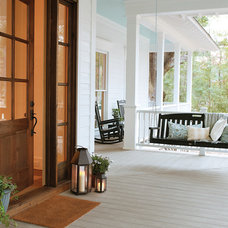 Traditional Porch by TREX COMPANY INC