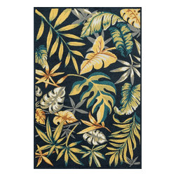 Loloi Rugs - Loloi Rugs Oasis Navy-Multi Contemporary Indoor / Outdoor Rug X-9AA7LMVN80-SOISA - Boldly designed and brightly colored, our Oasis Collection transforms any outdoor space into a modern patio paradise.This collection is power loomed in Egypt, ensuring precision in color and design for each and every piece. And because the 100% polypropylene yarns are specially tested to withstand UV rays and rain, it's the perfect all-weather rug.