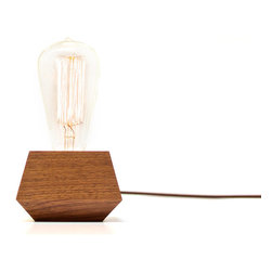 Revolution Design House - Boxcar Electric Table Lamp With Bulb - *Ships with a 30W Edison Lightbulb*