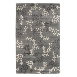 Surya - Surya Artist Studio 2' x 3' Transitional Plush Rug, Blue Gray (ART195-23) - Surya ART195-23 Artist Studio 2' x 3' Transitional Plush Rug, Blue Gray