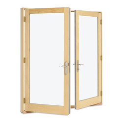 Wood-Ultrex Inswing French Door - Get the unmatched strength and durability of an Ultrex exterior with the welcoming feel of a rich pine wood interior. Wood-Ultrex fiberglass doors come in a variety of designs and styles to fit your home's layout and architecture. And with the patented finishing process of Ultrex, you can have your choice of colors that never fades or cracks.