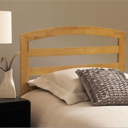 Hillsdale Furniture - Sophia Headboard - Natural Multicolor - HL3125 - Shop for Headboards and Footboards from Hayneedle.com! It may look plain but the Sophia headboard Natural is beyond plain. This subtly designed headboard is bound to bring delight into your home. This bed's traditional silhouette is enhanced by horizontal slats and superb construction. Finished in a warm natural color. Dimensions: Twin headboard: 40W x 1D x 47H inches Full/Queen headboard: 60W x 1D x 47H inches About Hillsdale FurnitureLocated in Louisville Ky. Hillsdale Furniture is a leader in top-quality affordable bedroom furniture. Since 1994 Hillsdale has combined the talents of nationally recognized designers and globally accredited factories to bring you furniture styling and design from around the globe. Hillsdale combines the best in finishes materials and designs to bring both beauty and value with every piece. The combination of top-quality metal wood stone and leather has given Hillsdale the reputation for leading-edge styling and concepts.