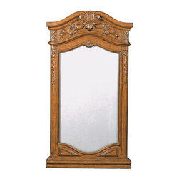 Ambella Home - New Ambella Home Mirror Pecan Carved Private - Product Details