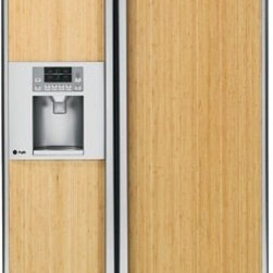 GE Profile Built-In Side-by-Side Refrigerator - This is a great looking built-in with different panel options to chose from to work with your kitchen design. It's high quality that you can rely on.