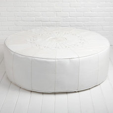 Mediterranean Ottomans And Cubes by Shabby Chic Couture