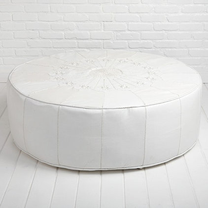 Mediterranean Footstools And Ottomans by Shabby Chic Couture