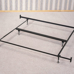 Coaster - Eastern King Size Bed Frame For Headboard And Footboard, 6 Legs - Eastern king size bed frame with 6 legs and glides for headboard and footboard.