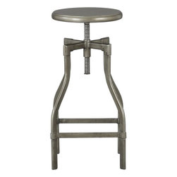 Turner Counter Stool-Barstool - These stools are sturdy and fun; they spin! Plus, they have a vintage look that will stay in style for years.