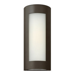 "Hinkley Lighting - Hinkley Lighting 2027 14"" Height 1 Light ADA Compliant Outdoor Wall Sconce - 14"" Height 1 ADA Compliant Light Outdoor Wall Sconce with Inside White Etched Shade from the Solara CollectionFeatures:"
