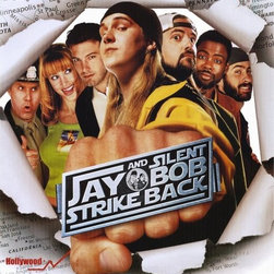 Jay and Silent Bob Strike Back 27 x 40 Movie Poster - Style A - Jay and Silent Bob Strike Back 27 x 40 Movie Poster - Style A Kevin Smith, Jason Mewes, Jason Lee, Ben Affleck, Shannon Elizabeth, Eliza Dushku, Ali Larter, Jennifer Schwalbach, Chris Rock, Will Ferrell, Brian O'Halloran, Seann William Scott, George Carlin, Carrie Fisher, Judd Nelson, Jon Stewart, Mark Hamill, Diedrich Bader. Directed By: Kevin Smith. Producer: Scott Mosier, View Askew, Dimension Films, Miramax Films.